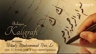 getlinkyoutube.com-Belajar Kaligrafi bersama Ust. Muhammad Nur, Lc - Eps. 3. Peran titik dalam Kaligrafi | Geometri