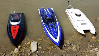 getlinkyoutube.com-RC ADVENTURES - 3 Speed Boats & Full Scale Recovery - Impulse 31, Spartan, Mystic 29