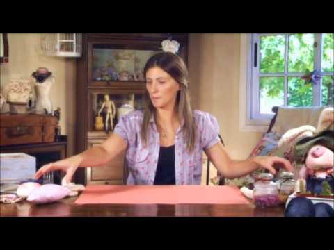 Dia de Amigas - Como hacer una coneja de tela