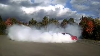 Twin engine 1200HP AWD burnout and walkaround