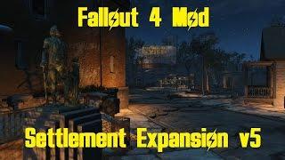 getlinkyoutube.com-Fallout 4 - Settlement Expansion Mod