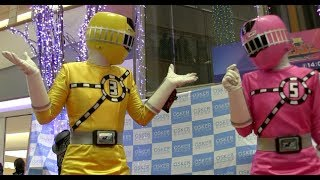 getlinkyoutube.com-トッキュウジャー ショー ハプニング!トッキュウ3号に異変が!   Ressha Sentai ToQger Show Happening !