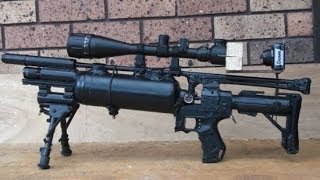 getlinkyoutube.com-HOMEMADE Pre Charged Sniper Rifle Airsoft Gun 500 fps Best on Youtube