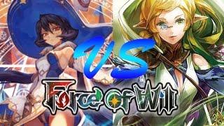 getlinkyoutube.com-Force of Will (TCG) Feature Match: Zero Stealth Control vs. Turbo Gwiber Fiethsing