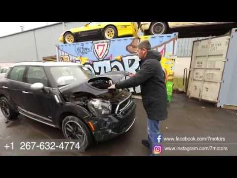 2016 Mini Cooper Countryman. Авто до 7000$ на страховом аукционе Copart. Автомобили из Америки