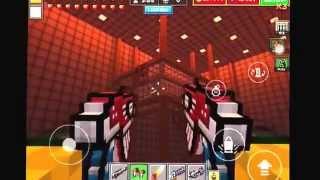 getlinkyoutube.com-Pixel Gun 3D: Silent School ( Glitch )