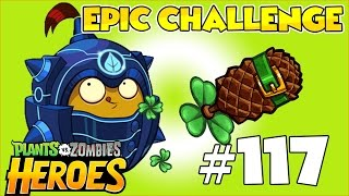 Plants vs Zombies Heroes Walkthrough 117 - Spudow Epic Challenge - Come From Behind Victory