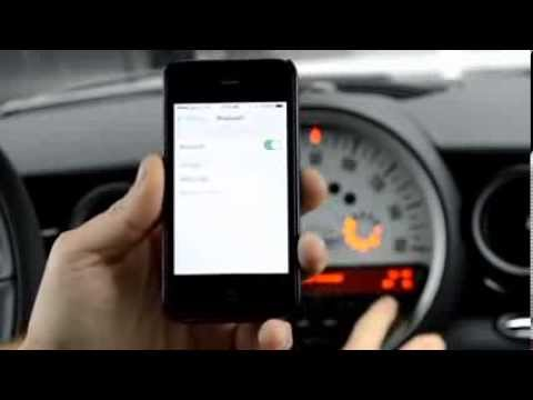 How to program bluetooth in a MINI Cooper