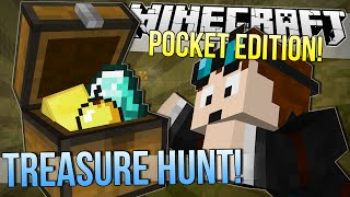 getlinkyoutube.com-Minecraft Pocket Edition | TREASURE HUNT
