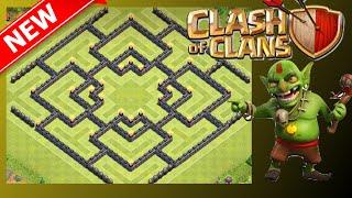 "getlinkyoutube.com-NEW AWESOME TH10 Farming Base! ""The Shield"" | Clash Of Clans"