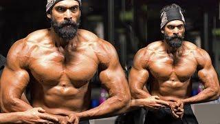 getlinkyoutube.com-Rana Daggubati's Gym Bodybuidling Workout For Bahubali 2 - The Conclusion Movie