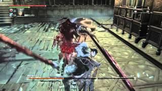 getlinkyoutube.com-[時計塔のマリア 銃パリィで簡単攻略]ブラッドボーン オールドハンターズ 【Bloodborne: The Old Hunters】
