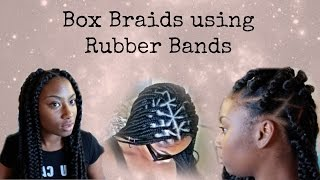 getlinkyoutube.com-JUMBO BOX BRAIDS   RUBBER BAND METHOD- Gen Love