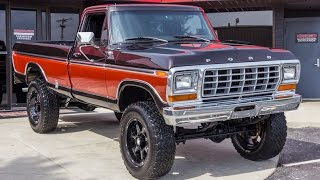 getlinkyoutube.com-1978 Ford F250 4x4 Pickup For Sale