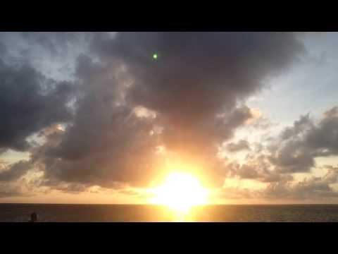 FLAT EARTH SUNRISE Time-Lapse