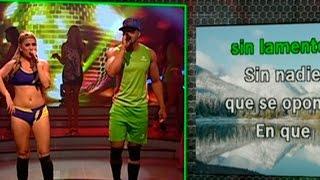 getlinkyoutube.com-BLT: Yahaira Plasencia dio clases de canto en el reto del karaoke