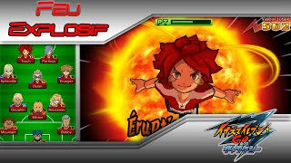 Feu Explosif - Inazuma Eleven Go Chrono Stones: Brasier et Tonnerre