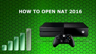 HOW TO OPEN ALL XBOX ONE PORTS/BETTER GAMING PERFORMANCE  2016