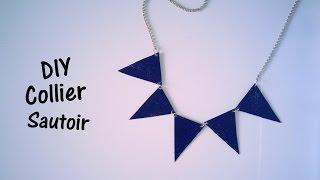 getlinkyoutube.com-DIY Création d'un collier sautoir avec un CD