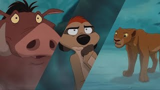 The Lion King   Timon,Nala And Pumba Scene (HD)