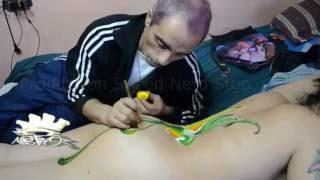 getlinkyoutube.com-BODY PAINT CUERPOS PINTADOS BODY ART NETO 39