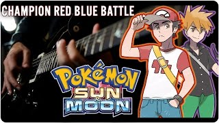 getlinkyoutube.com-Pokémon Sun & Moon: Champion Red/Blue Battle - Metal Cover || RichaadEB