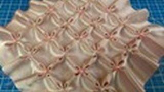 getlinkyoutube.com-شرح غرز السموك - غرزة الياسمين. {غرزة الزهرة } DIY