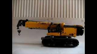 getlinkyoutube.com-Lego Technic Kreation 10:SENNEBOGEN Teleskopkran 683R