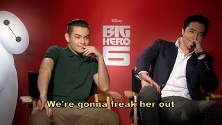 getlinkyoutube.com-Big Hero 6: Ryan Potter and Daniel Henney Interview + Bloopers