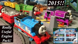 getlinkyoutube.com-Thomas and Friends Toy Trains-Trackmaster Really Useful Engines Pack!