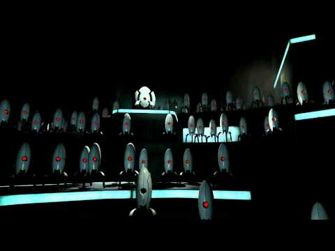 Portal 2 Turret Choir/Turret Ending Song HD 720p