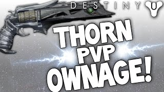 getlinkyoutube.com-Destiny: PvP Gameplay! Thorn Ownage! Best PvP Weapon? (Exotic Hand Cannon)
