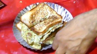 getlinkyoutube.com-Bread Omelet | Healthy Breakfast Menu  | Step by Step | DELHI STREET FOODS