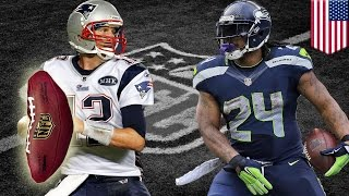 getlinkyoutube.com-Super Bowl XLIX preview: Seahawks and Pats a battle for Lynch's nuts and Brady's balls