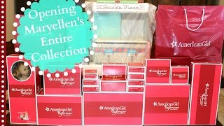 getlinkyoutube.com-Maryellen's Entire Collection | American Girl Doll Review