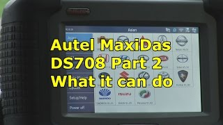 getlinkyoutube.com-Autel MaxiDas DS708 All Systems,What it can do, Part 2 | Automotive Diagnostics