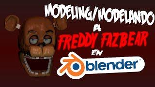 getlinkyoutube.com-MODELANDO Freddy Fazbear en Blender