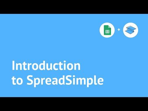 SpreadSimple