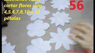 getlinkyoutube.com-AULA 56: COMO CORTAR FLORES COM 4,5,6,7,8,10 E12 PÉTALAS
