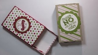 getlinkyoutube.com-Stampin' Up! Envelope Punch Board Matchbox