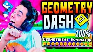 "Geometry Dash 2.0! ""GEOMETRICAL DOMINATOR"" COMPLETADO 100% #30 - TheGrefg"