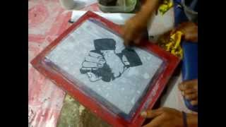 getlinkyoutube.com-Latian afdruk screen sablon 5menit jadi