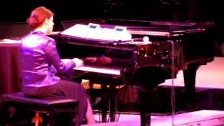 getlinkyoutube.com-Kim Collingsworth piano solo (His Eye is on the Sparrow) 04-28-12