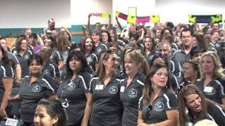 Del Valle Learning Community Flash Mob Dance
