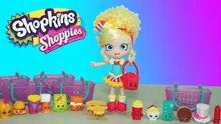 getlinkyoutube.com-Shopkins Shoppies Popette with Exclusive Shopkins & Shopkins Season 3 Play-Doh Surprise Egg
