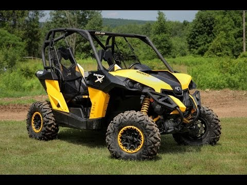 2014 Can-Am Maverick 1000R X xc Review