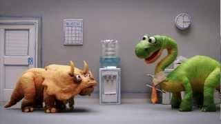 getlinkyoutube.com-Dinosaur Office