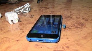 getlinkyoutube.com-Распаковка точной китайской копии Iphone 5c за 69$ c Aliexpress