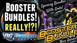 getlinkyoutube.com-DCUO: Booster Bundles... Really?!?! // Opening Bundles With Gods!