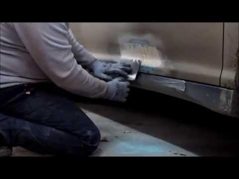 Lexus. Repair of the door. Ремонт двери.